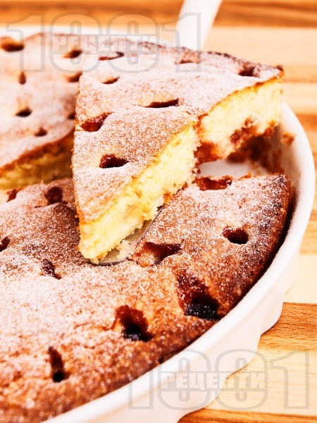 Лесен сладкиш с вишни - снимка на рецептата